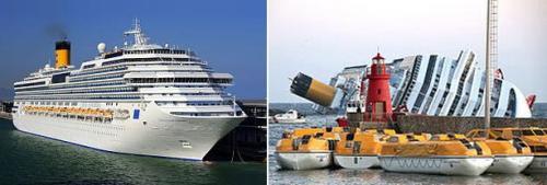 Costa Concordia – Un mes después del accidente