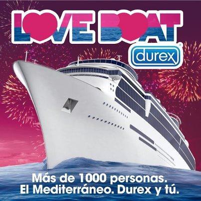 Love Boat de Durex un crucero de fuertes emociones por el Mediterráneo