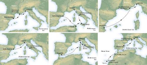 Vacaciones en el Mediterráneo con los MSC Holiday Breaks