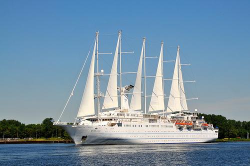 Viajes en velero para noviembre 2012 con Windstar