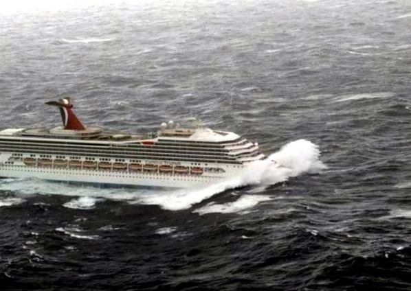 ¿Puede un tsunami ser peligroso para los cruceros?