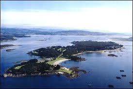 Galicia. Isla de La Toja