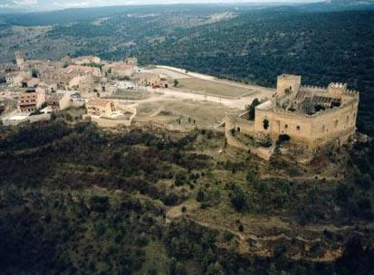 Segovia, Pedraza de la Sierrra. España