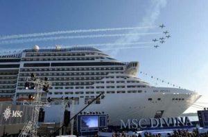 La nueva MSC Divina y el Mediterráneo
