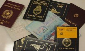 Documentos y pasaportes