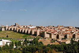 Ávila, la ciudad amurallada