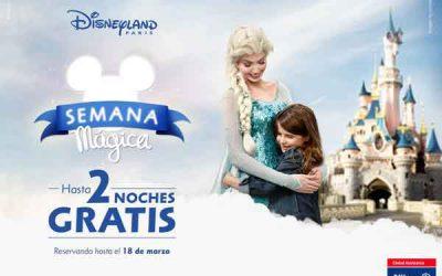 Dos noches gratis en la Semana Mágica de Disneyland