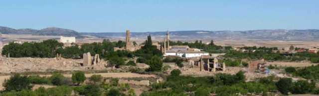 Campo de Belchite: Turismo rural en Zaragoza