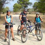 Ciclismo en un fin de semana de turismo