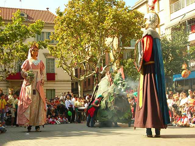 Barcelona | Festa de Tardor en Sant Feliu de Llobregat durante el Puente del Pilar 2010