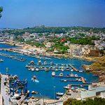 Italia, región de Apulia, bañada por dos mares