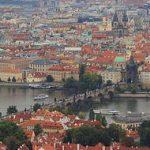 Praga, la ciudad y el río Moldava
