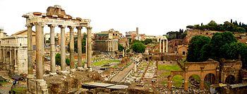 Roma, la antigua capital del Imperio romano