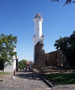 Uruguay. Colonia de Sacramento, junto al río de la Plata