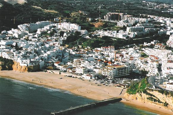 """Escapada por Algarve (Portugal): Albufeira, """"Castillo sobre el mar"""""""