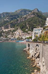 Italia. La hermosa Costa Amalfitana y sus singulares pueblos