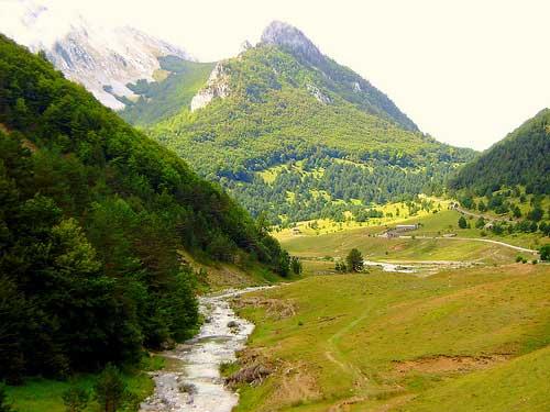 Valle de Ansó. Huesca y el Pirineo Aragonés