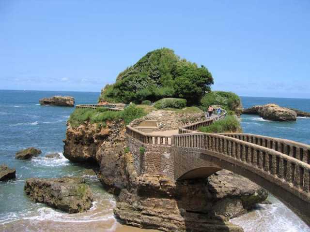 Biarritz y la costa del País Vasco Francés