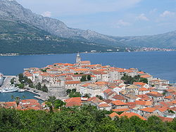 Increíbles islas en el mar Adriático. Costa de Croacia
