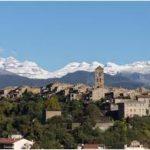 La Villa medieval de Ainsa, Huesca. La belleza del Pirineo Aragonés