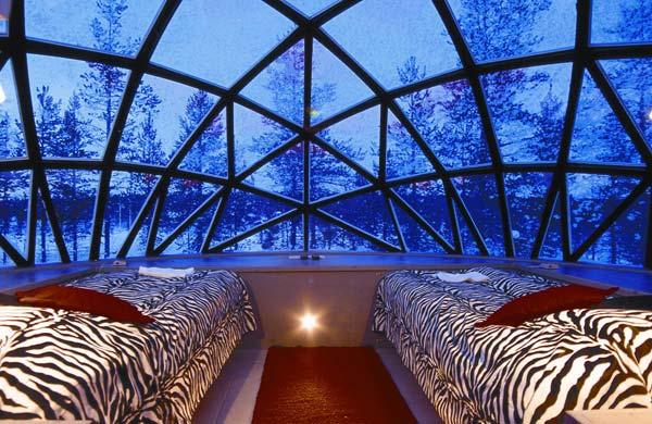 El paraiso de vidrio de Finlandia