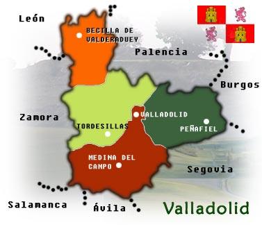Fin de semana en Valladolid. Atractivos de la capital y turismo rural en la provincia