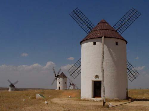Ruta de los Molinos de Viento: Mota del Cuervo (Cuenca)