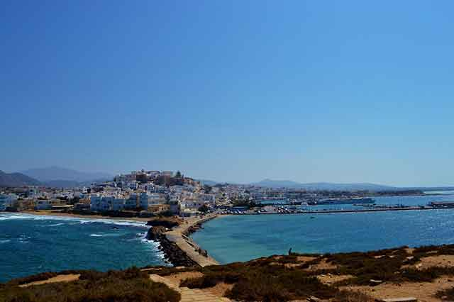Naxos. Destinos de Grecia para escapadas de sol y playa