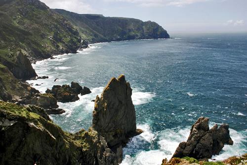 La Coruña. Comarca de Ortegal, al Norte del Norte de Galicia