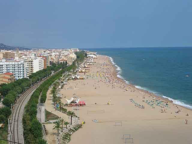 Calella. Vacaciones de verano en Cataluña