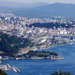 Trieste, junto al mar Adriático, una ciudad multicultural