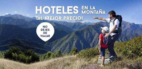 Vacaciones de actividad y naturaleza. Hoteles en la montaña al mejor precio
