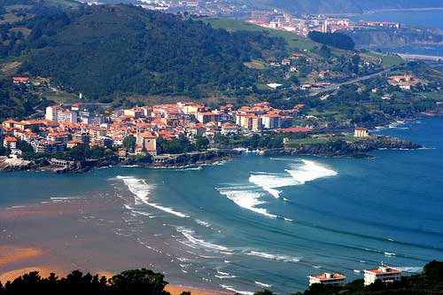 Mundaka, playas, surf y rurismo en Vizcaya (País Vasco)